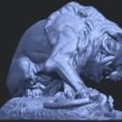 16_Lion_(iii)_with_snake_60mm-B08.png Télécharger fichier STL gratuit Lion 03 - avec serpent • Modèle imprimable en 3D, GeorgesNikkei