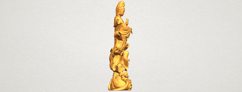 TDA0298 Avalokitesvara Bodhisattva - Standing (vi) A07.png Télécharger fichier STL gratuit Avalokitesvara Bodhisattva - Debout 06 • Objet pour impression 3D, GeorgesNikkei