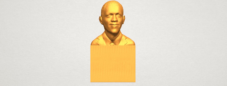 TDA0294 Obama A01.png Download free STL file Obama • 3D print model, GeorgesNikkei