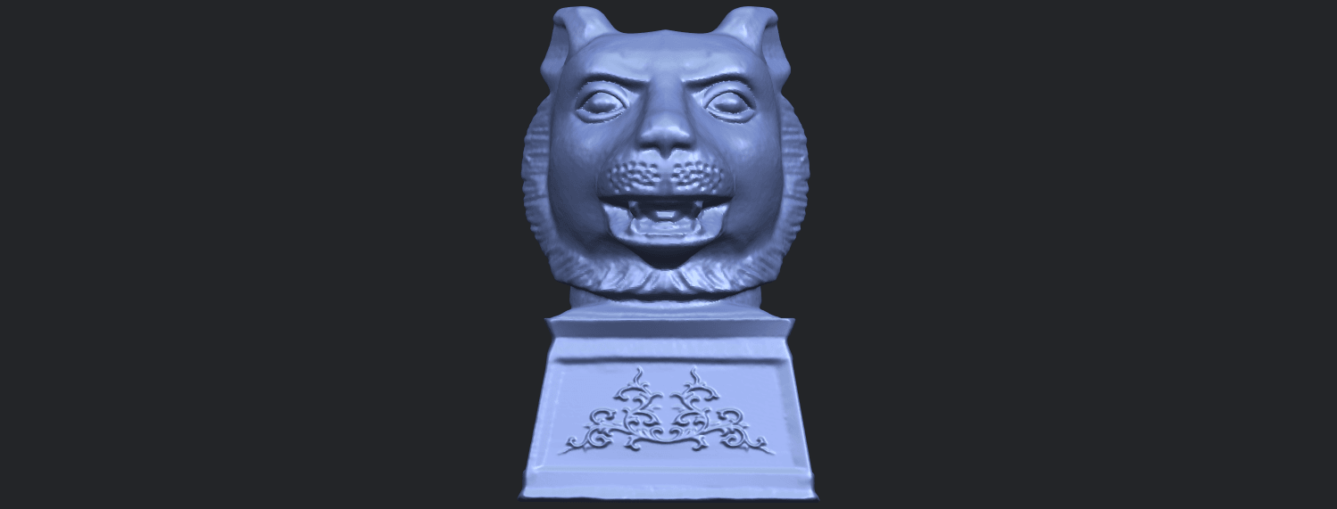 20_TDA0510_Chinese_Horoscope_of_Tiger_02B01.png Download free STL file Chinese Horoscope of Tiger 02 • 3D print object, GeorgesNikkei