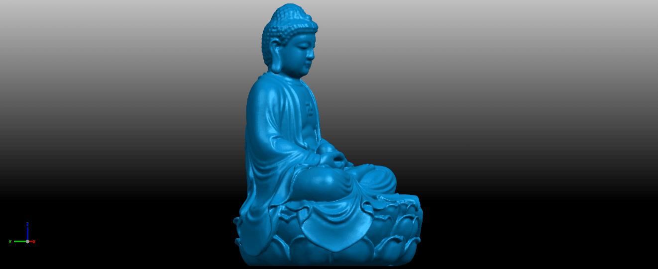 07.png Télécharger fichier STL gratuit Gautama Bouddha 01 • Plan pour impression 3D, GeorgesNikkei