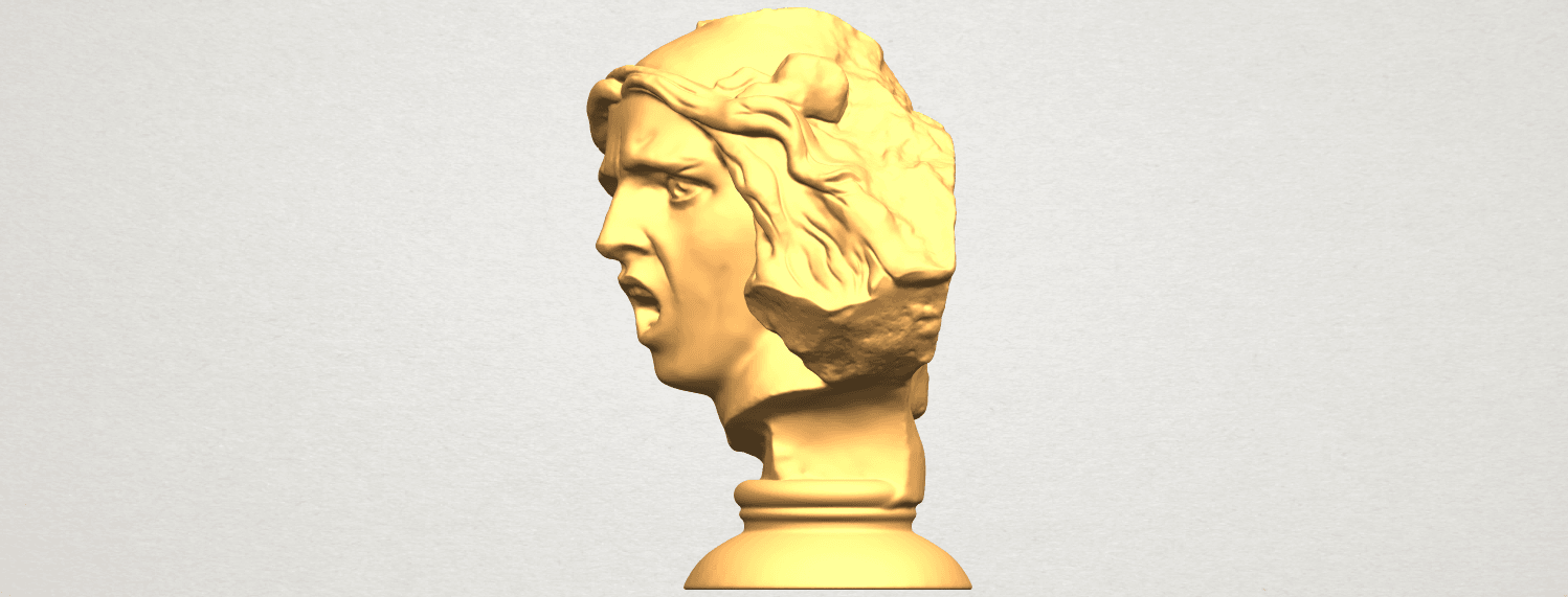 A03.png Download free STL file Bust of Shock • 3D print object, GeorgesNikkei