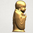 Little Monk 80mm - A05.png Download free STL file Little Monk 01 • 3D printable design, GeorgesNikkei