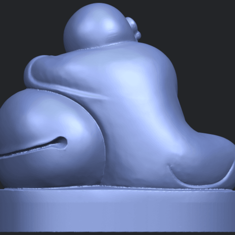 03_TDA0346_Little_MonkB06.png Download free STL file Little Monk 02 • Design to 3D print, GeorgesNikkei