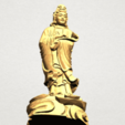 Avalokitesvara Buddha - Standing (iv) A10.png Download free STL file Avalokitesvara Buddha - Standing 04 • 3D print template, GeorgesNikkei
