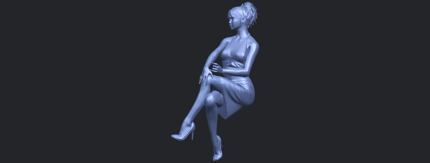 16_TDA0666_Naked_Girl_H04B06.png Download free STL file Naked Girl H04 • 3D printing object, GeorgesNikkei