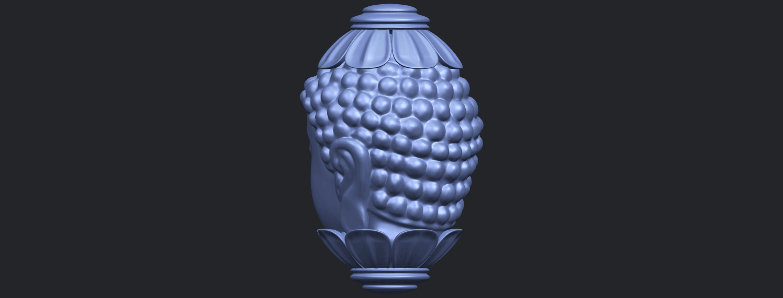 11_Buddha_Head_Sculpture_80mmB05.png Download free STL file Buddha - Head Sculpture • 3D printing model, GeorgesNikkei