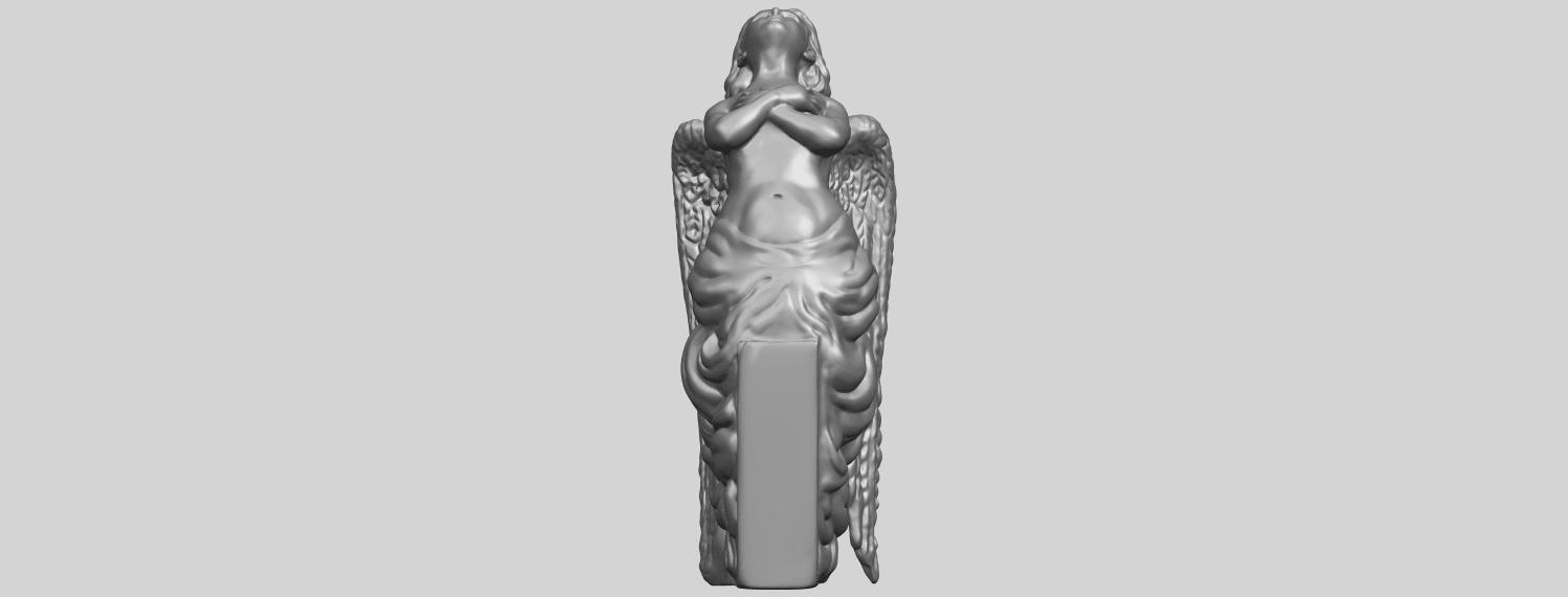 04_Angel_iii_88mmA01.png Download free STL file Angel 03 • 3D printable object, GeorgesNikkei