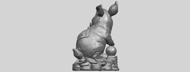 07_TDA0559_Rabbit_02A06.png Télécharger fichier STL gratuit Lapin 02 • Design imprimable en 3D, GeorgesNikkei