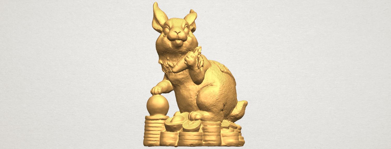 TDA0559 Rabbit 02 A01 ex500.png Télécharger fichier STL gratuit Lapin 02 • Design imprimable en 3D, GeorgesNikkei