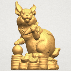 Free 3d print files  Rabbit 02, GeorgesNikkei