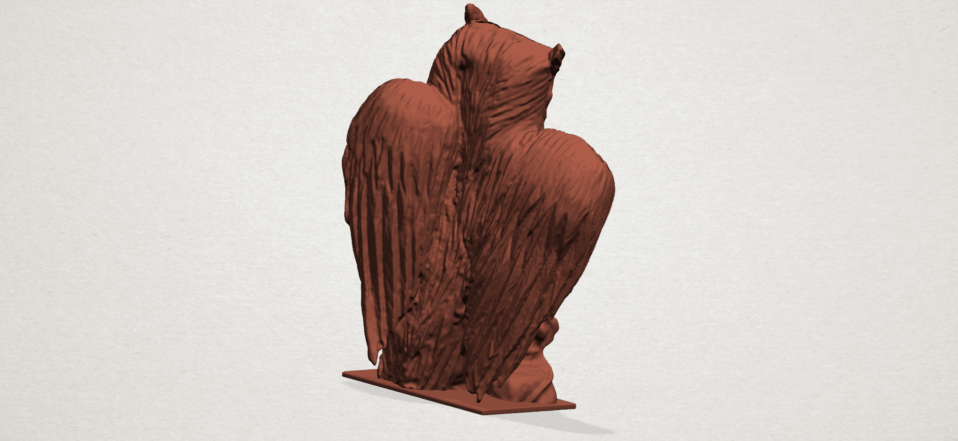 Owl (ii) B03.png Download free STL file Owl 02 • 3D printer object, GeorgesNikkei