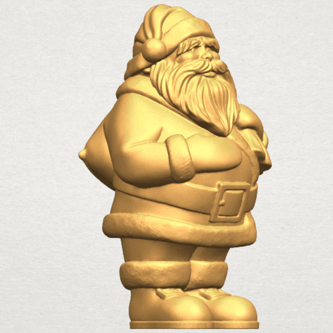 TDA0579 Santa Claus A08.png Download free STL file Santa Claus • Object to 3D print, GeorgesNikkei