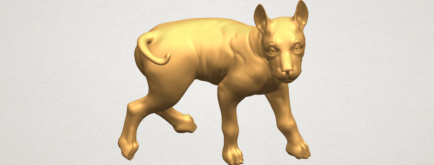 TDA0523 Bull Dog 04 A09.png Download free STL file Bull Dog 04 • 3D print design, GeorgesNikkei