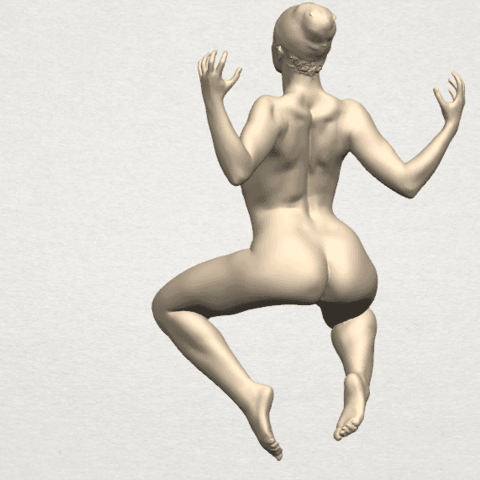 TDA0282 Naked Girl A09 03.png Download free STL file Naked Girl A09 • 3D print object, GeorgesNikkei