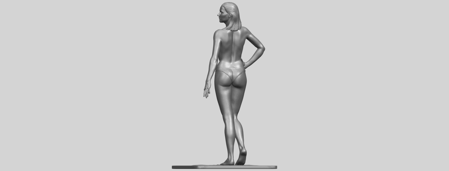 11_TDA0465_Naked_Girl_19_ex800A06.png Download free STL file Naked Girl 19 • 3D printer template, GeorgesNikkei