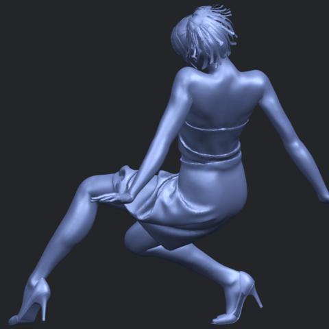 19_TDA0661_Naked_Girl_G09B05.png Télécharger fichier STL gratuit Fille nue G09 • Design pour impression 3D, GeorgesNikkei