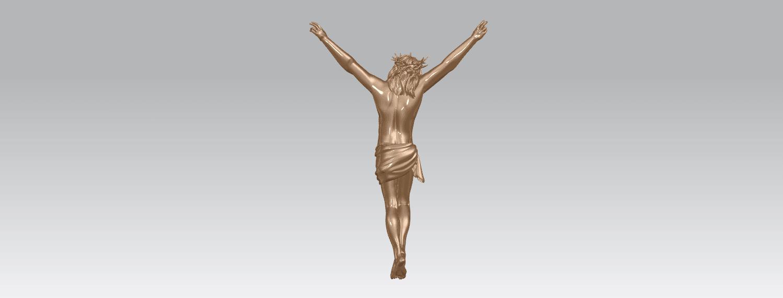 TDA0230 Jesus (ii) A04.png Download free STL file Jesus 02 • 3D printing template, GeorgesNikkei