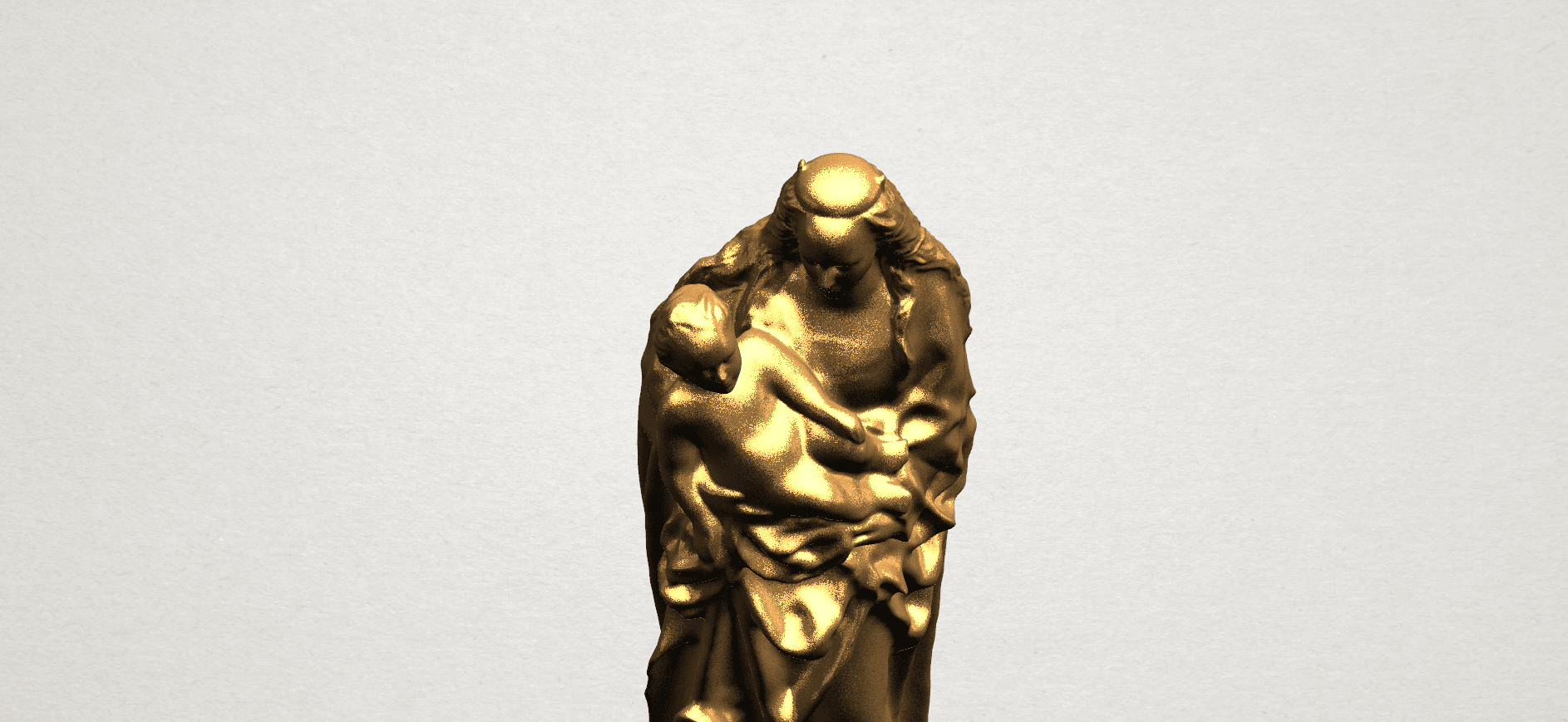 Mother and Child (vi) - A08.png Download free STL file Mother and Child 06 • 3D printing template, GeorgesNikkei