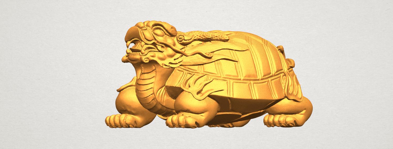TDA0333 Dragon  Tortoise A07.png Download free STL file Dragon  Tortoise • Model to 3D print, GeorgesNikkei
