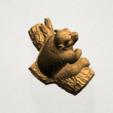 Chinese Horoscope09 - A05.png Télécharger fichier STL gratuit Horoscope Chinois 09 Singe 09 Singe • Objet pour imprimante 3D, GeorgesNikkei