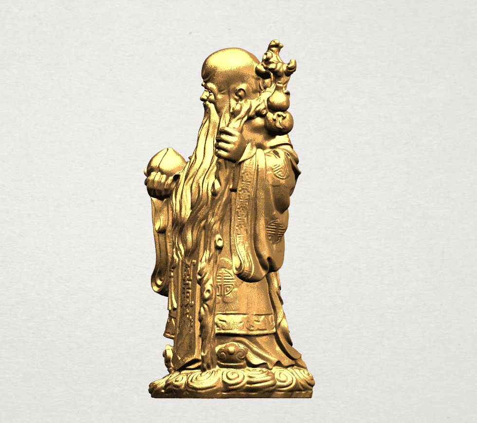 Sao (Fook Look Sao) 80mm - B02.png Download free STL file Sao (Fook Look Sao) • 3D printable model, GeorgesNikkei