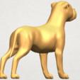 TDA0524 Bull Dog 05 A06.png Download free STL file Bull Dog 05 • 3D printer design, GeorgesNikkei