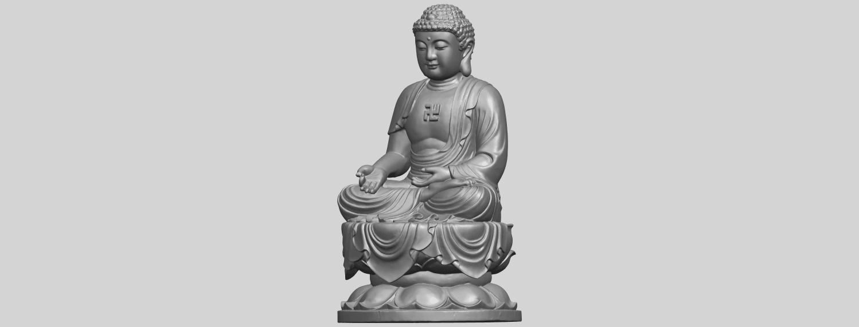 01_TDA0174_Gautama_Buddha_(ii)__88mmA02.png Download free STL file Gautama Buddha 02 • 3D print template, GeorgesNikkei
