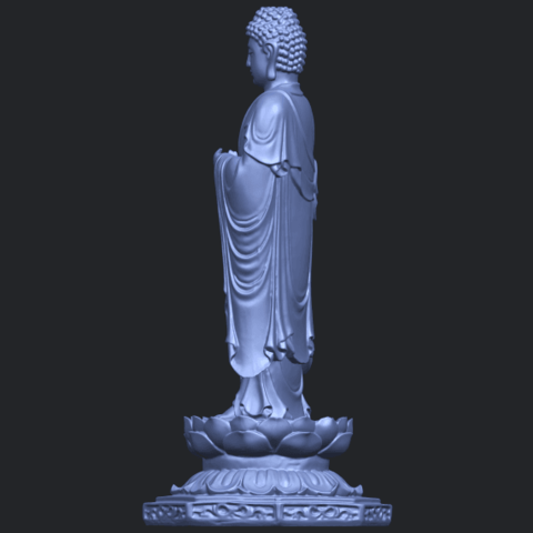 10_TDA0176_Gautama_Buddha_Standing_iiiB07.png Download free STL file Gautama Buddha Standing 03 • 3D printing design, GeorgesNikkei
