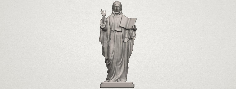 TDA0237 Jesus (v) A01.png Télécharger fichier STL gratuit Jésus 05 • Design imprimable en 3D, GeorgesNikkei