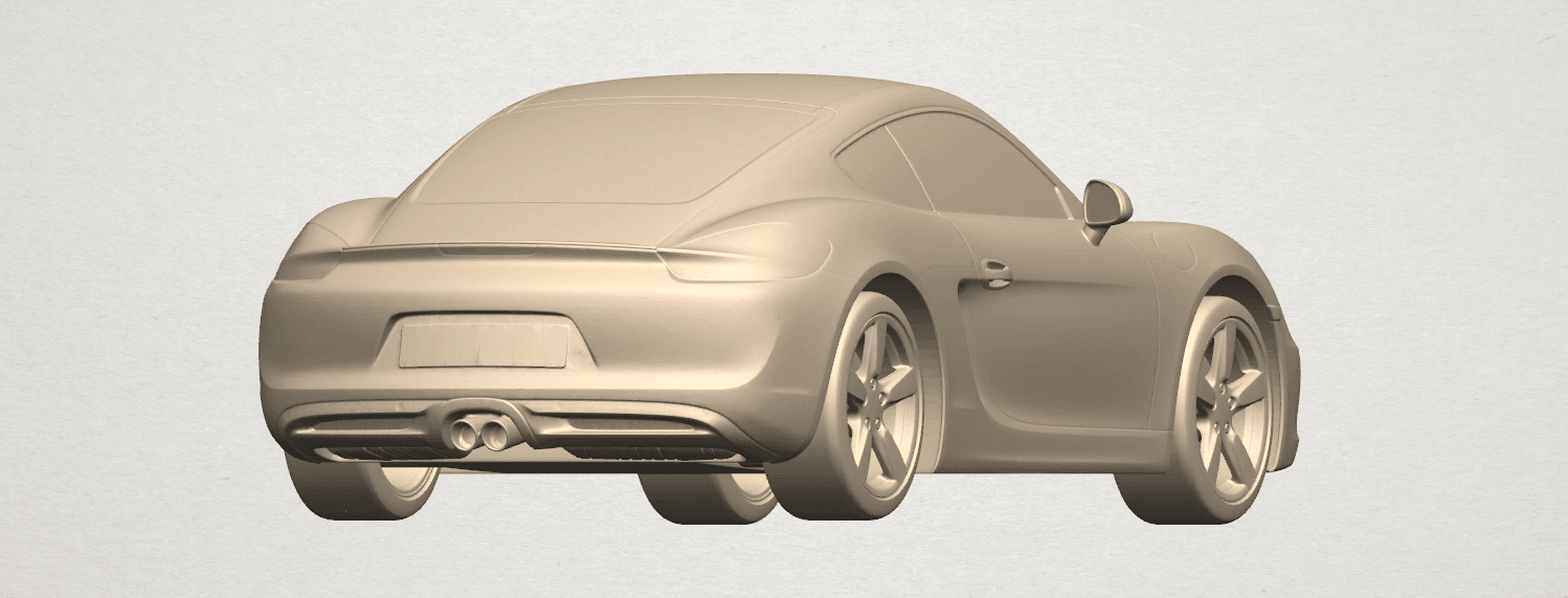TDA0304 Porche 01 Length438mm A03.png Download free STL file Porche 01 • 3D printable object, GeorgesNikkei