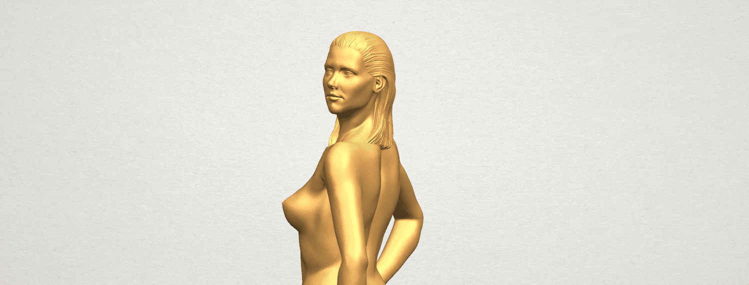 TDA0465 Naked Girl 19 A08.png Download free STL file Naked Girl 19 • 3D printer template, GeorgesNikkei