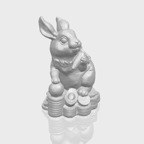 07_TDA0559_Rabbit_02A00-1.png Télécharger fichier STL gratuit Lapin 02 • Design imprimable en 3D, GeorgesNikkei