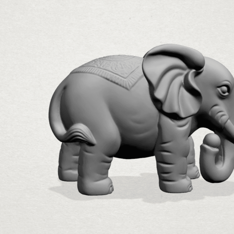 Elephant 03-A02.png Download free STL file Elephant 03 • 3D printable design, GeorgesNikkei