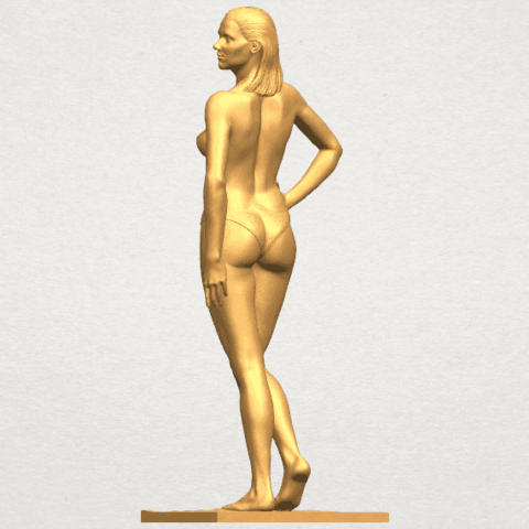 TDA0465 Naked Girl 19 A04.png Download free STL file Naked Girl 19 • 3D printer template, GeorgesNikkei