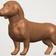 Download free STL files Dog - Dachshund, GeorgesNikkei