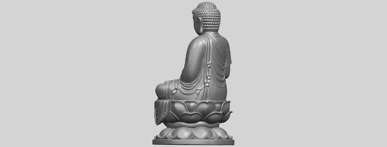 01_TDA0174_Gautama_Buddha_(ii)__88mmA05.png Download free STL file Gautama Buddha 02 • 3D print template, GeorgesNikkei