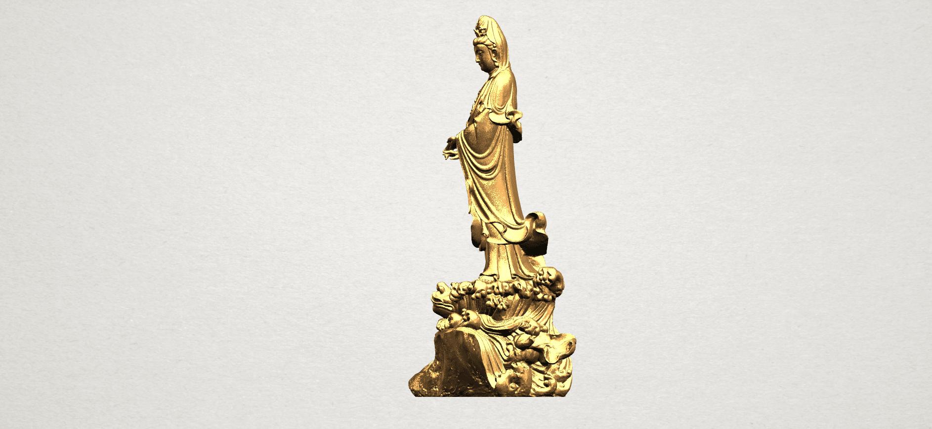 Avalokitesvara Buddha - Standing (ii) A03.png Download free STL file Avalokitesvara Bodhisattva - Standing 02 • Design to 3D print, GeorgesNikkei