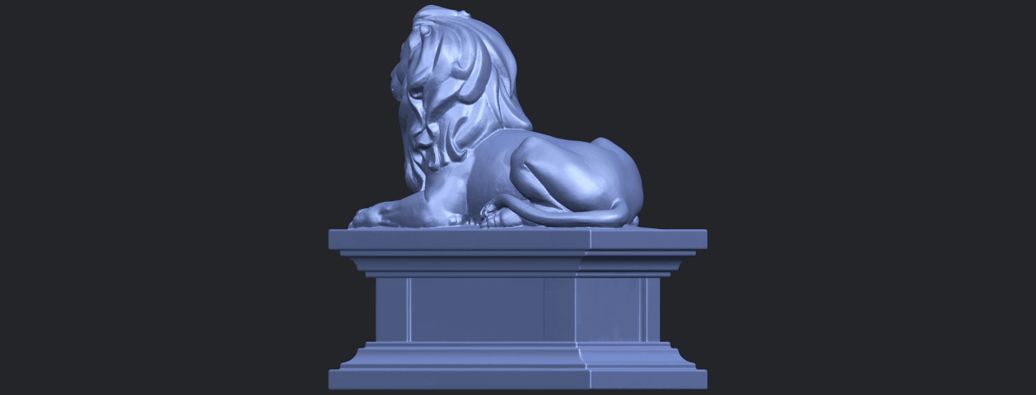 01_TDA0499_Lion_04B05.png Download free STL file Lion 04 • Template to 3D print, GeorgesNikkei
