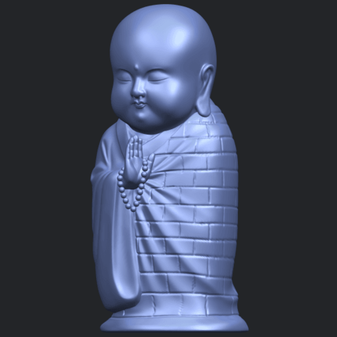 Little_Monk_80mmB02.png Download free STL file Little Monk 01 • 3D printable design, GeorgesNikkei