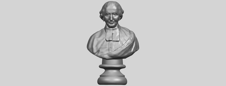 24_TDA0620_Sculpture_of_a_head_of_man_02A01.png Télécharger fichier STL gratuit Sculpture d'une tête d'homme 02 • Design à imprimer en 3D, GeorgesNikkei