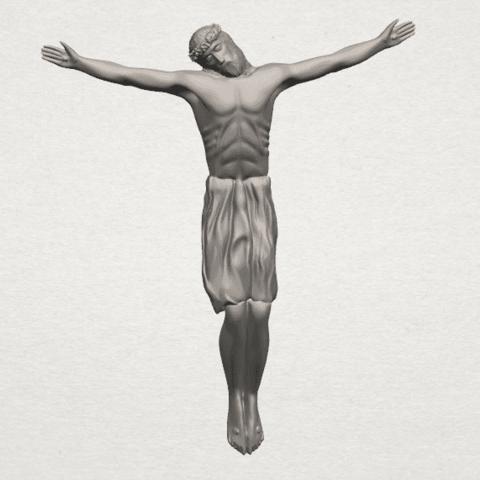 TDA0230 Jesus (iii) A00.png Download free STL file Jesus 03 • 3D printable template, GeorgesNikkei