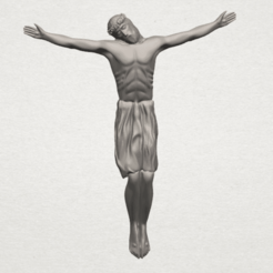Download free 3D printer designs Jesus 03, GeorgesNikkei