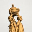 Télécharger fichier STL gratuit Sculpture des trois grâces 03, GeorgesNikkei