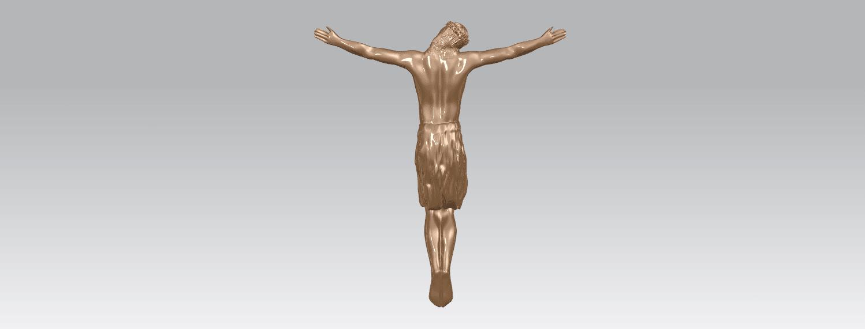 TDA0230 Jesus (iii) A04.png Download free STL file Jesus 03 • 3D printable template, GeorgesNikkei