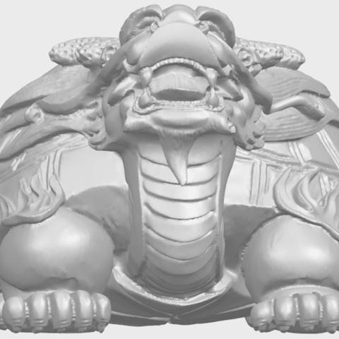 01_TDA0333_Dragon_TortoiseA09.png Télécharger fichier STL gratuit Tortue dragon • Objet imprimable en 3D, GeorgesNikkei