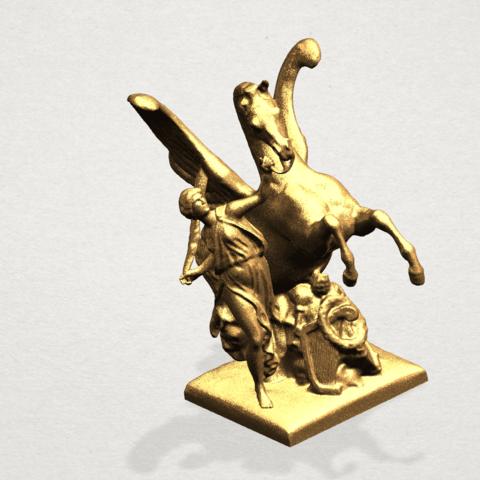 Horse (v) A08.png Télécharger fichier STL gratuit Cheval 05 • Plan pour impression 3D, GeorgesNikkei