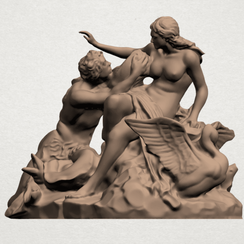 Naked Couple (vi) A02png.png Download free STL file  Naked Couple 06 • 3D printing object, GeorgesNikkei