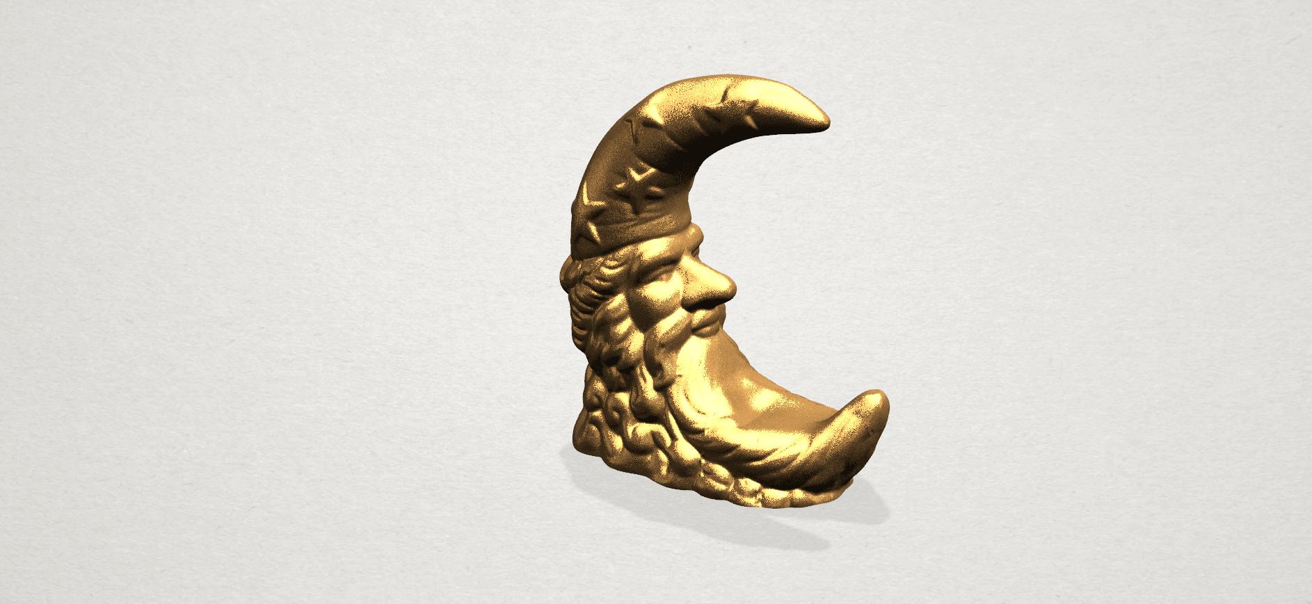 Moon - B02.png Télécharger fichier STL gratuit Lune • Design pour impression 3D, GeorgesNikkei