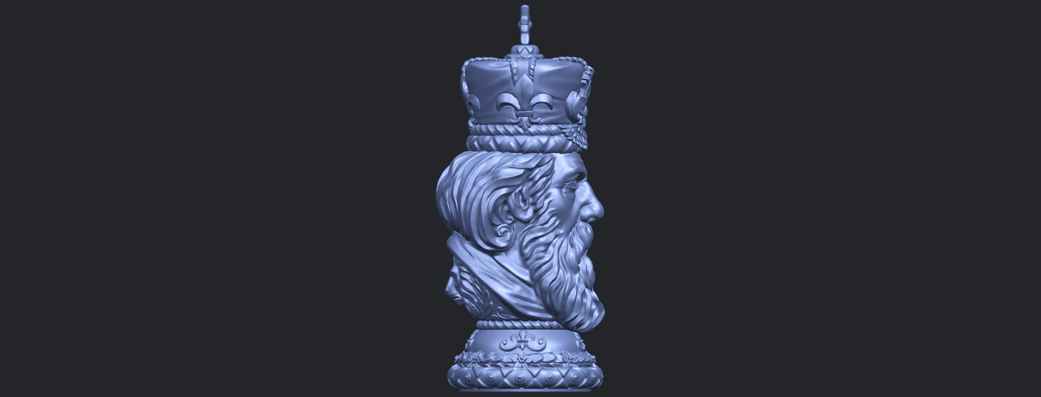 06_TDA0254_Chess-The_KingB09.png Download free STL file Chess-The King • 3D printer model, GeorgesNikkei